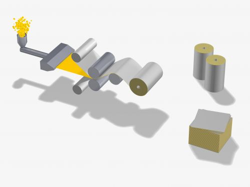 Flat film extrusion - ISOSPORT